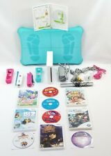 Nintendo Wii WHITE Console BUNDLE/LOT+10 Games+Cables+Controllers+Nunchuks+MORE