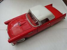 1/18 REVELL CLASSIC RED 1955 FORD THUNDERBIRD CONVERTIBLE DIECAST MODEL CAR