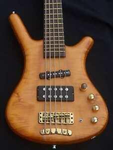 Stunning Warwick Jazzman FNA 5 String Electric Bass Guitar Active