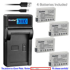 Kastar LCD Charger Battery for Canon LP-E8 LC-E8 & Canon EOS Rebel T5i Camera