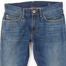 Mens Tommy Hilfiger HUDSON Straight Blue Jeans W30 L32