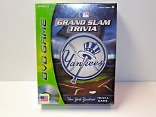 Brand New SEALED ~ Grand Slam Trivia New York Yankees DVD Game by Snap TV
