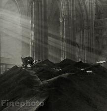 1924/78 JOSEF SUDEK Czech Photo Gravure Saint Vitus Cathedral Religion Spiritual