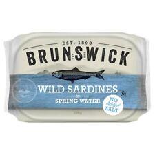 Brunswick Wild Sardines in Spring Water 106g