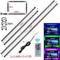 USB LED Strip Light 5050 RGB Colour Changing TV Back Lighting +24/44Key