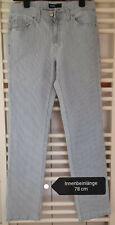 Angels Jeans Blau-Weiß gestreift Gr. 40 NEU
