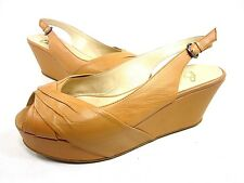 BUTTER, SOUP PLATFORM SANDAL, WOMEN'S, NATURAL, US SIZE 10 M, NEW WITH BOX