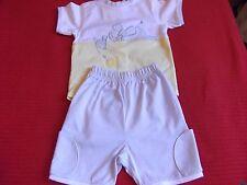 NEUF MARESE bébé short et t/shirt set., âge d'environ 3/6 mois.
