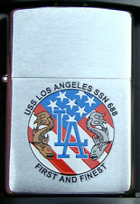 USS Los Angeles  (SSN-688)  Submarine Zippo MIB Dodgers   BC