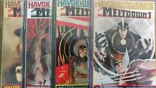 From X-men Comic Lot Havoc and Wolverine Meltdown 1-4 Vf+ bagged