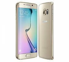 Samsung Galaxy S6 Edge SM-G925T 32GB Gold Platinum T-Mobile Smartphone Used