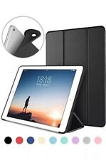 for Apple iPad 9.7 Inch Case DTTO Ultra Slim Smart Cover Soft TPU Back Black