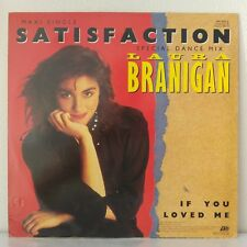 "Laura Branigan ‎– Satisfaction (Vinyl, 12"", MAXI 45 Tours)"