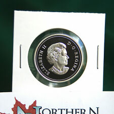 2004 Canada 50 cent silver coin w Blunt design used (2004 to date) proof finish