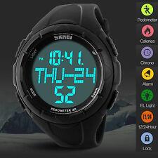 Sport Watch Pedometer Step Walking Distance Calorie Counter Activity Tracker Men
