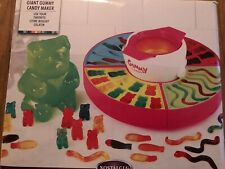 Nostalgia Gcm600 Electric Giant Gummy Bear, Fish and Worm Maker