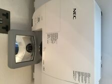NEC NP-U310W DLP Projector,new lamp and remote control.