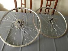 """Vintage Wolber AT400 Titanium light 26""""  rims,wheels, Deore Lx FH-M560, HB-M560"""