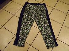BNWT Autograph Pistachio Delight Floral Tuxedo Print Pants sz 20 RRP $59.99
