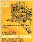 AUSTIN MORRIS MG RILEY KESTREL VDP PRINCESS 1100 MK1 '62-67 OWNERS REPAIR MANUAL