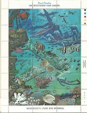 1988 Truk Lagoon Mini Sheet  Complete MUH/MNH as Issued