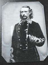 Historical tintype reproduction Civil War Major General George A Custer C521RP