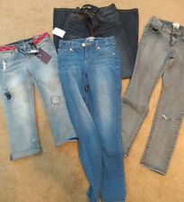 Lot of 7 Pair, Youth, Girls, Jeans, Size 12, Denim, Slim