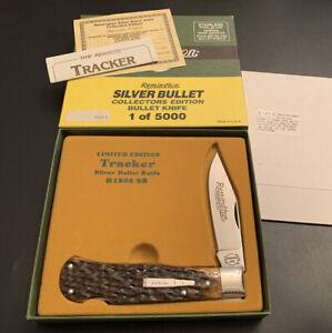 "🔥 1990 Remington Silver Bullet ""Tracker"" Collector's Edition R1306SB USA 1/5000"