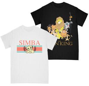Disney The Lion King Boys Simba Stripes - Group T-shirt Multi Pack of 2 12-13