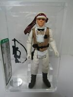 Vintage Loose 1980 Star Wars: Empire Strikes Back Luke Hoth Figure AFA 80 NM