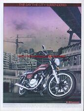 Kawasaki Z250A Scorpion Motorcycle 1981 Magazine Advert #1929