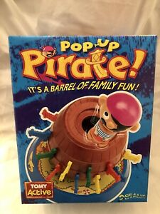 Tomy Pop Up Pirates New Vintage Boxed Children's Game