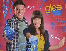 CORY MONTEITH & LEA MICHELE - A2 Poster (XL - 42 x 55 cm) - Glee Clippings NEU