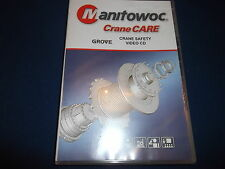 GROVE CRANE CARE SAFETY VIDEO CD