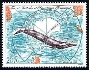FSAT TAAF C138, MNH. Blue Whale, Southern Whale Sanctuary, 1996