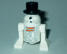 STAR WARS #15 Lego R2-D2 Snowman w/tophat NEW Genuine Lego 9509 Christmas