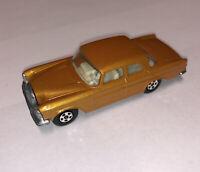 Matchbox Superfast No 46 Mercedes 300 SE Dark Gold;Narrow Wheel; Mint; No box