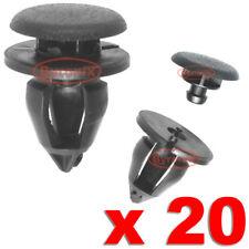 RENAULT CLIO KANGOO TRAFFIC INTERIOR TRIM CLIPS PLASTIC PANEL X 20