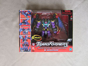Transformers Action Figure 2001 Robots in Disguise Megatron New Unopened Hasbro