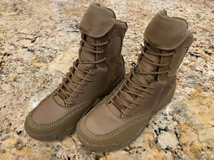 """Lalo Shadow Amphibian 8"""" Tactical Boots, Coyote Brown, Navy SEAL Salomon Merrell"""