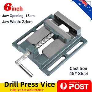 6'' 150mm Drill Press Vice Bench Vise Clamp Milling Machine Maintenance Tool AU