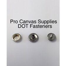 "DOT Snaps Cap, Socket, & Screw Stud 3/8"" #10 Stainless Steel Kit 50 SETS"