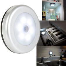 LED PIR Motion Sensor Under Cupboard/Wardrobe Magnetic/Stick-On Light
