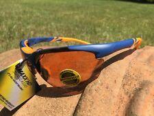 Maxx 2 HD Sunglasses blue orange golf driving lens brown high definition LT