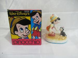 PINOCCHIO & FIGARO Porcelain Figurine - Walt Disney Schmid NIB!