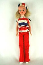 Pedigree Sindy blonde bunches hair doll in 1978 Mix 'n Match outfit 70's 80's