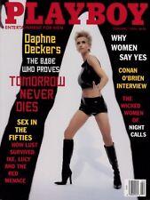 PLAYBOY FEBRUARY 1998 Julia Schultz Daphne Deckers Juli Ashton Conan O'Brien TCV