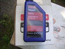 6- 1 Quart Polaris VES Racing Full Synthetic 2-Cycle Oil PART # 2878243