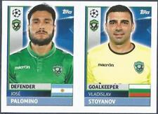 TOPPS CHAMPIONS LEAGUE-2016-17- #QFF03-04-LUDOGORETS-V STOYANOV / JOSE PALOMINO