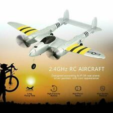 P38 2.4G RC Plane Glider Airplane Remote Control Aircraft Toy Fixed Wing S B5L6